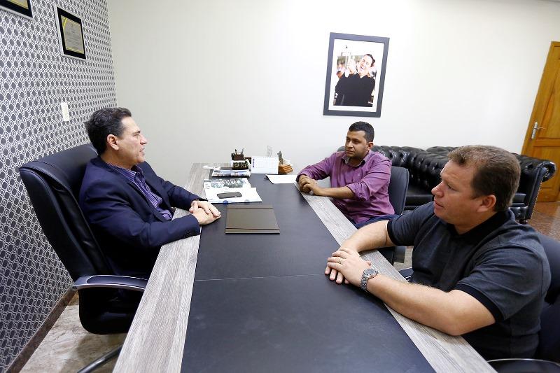 Presidente Maurão e Dr. Neidson garantem apoio a evento da Acreditar