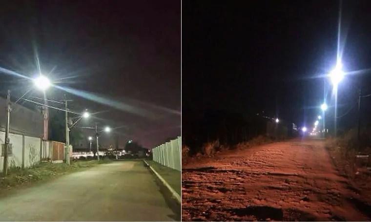 Júnior Cavalcante tem pedido atendido de iluminação pública no bairro Três Marias