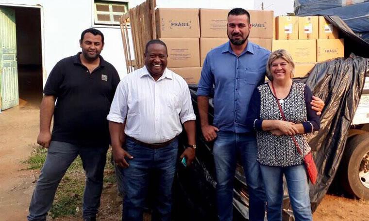 Laerte Gomes destina emenda para compra de 200 caixas de soro para o Hospital de Costa Marques