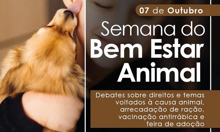 PROTEÇÃO ANIMAL: Semana tem agenda para conscientização