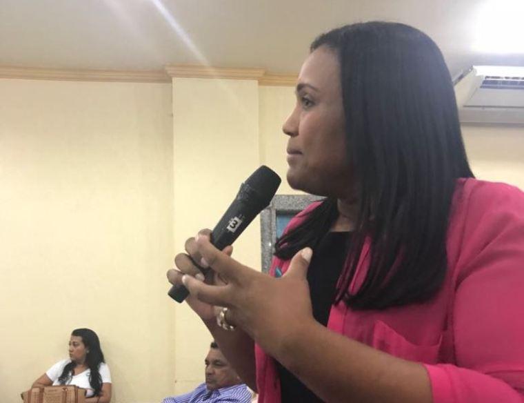 Joelna Holder participa de reunião partidária do PMDB em Porto Velho