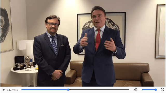 ELEIÇÕES – Álvaro Dias grava vídeo convidando Héverton Aguiar para o PODEMOS