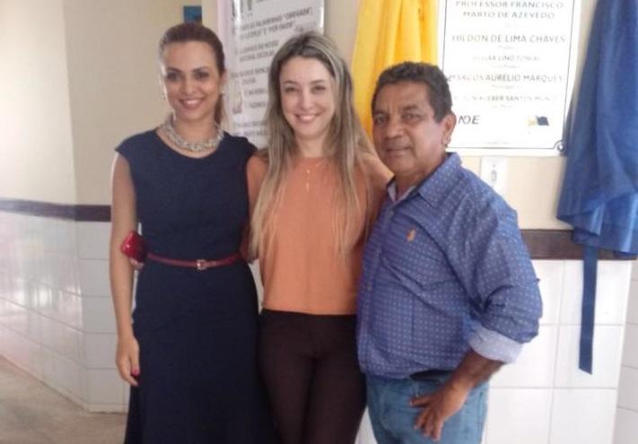 COMUNIDADE – Zequinha Araújo celebra inauguração de escola municipal na zona Leste da capital