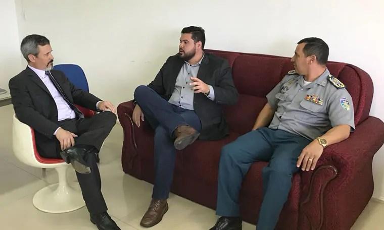 Jean Oliveira reivindica Batalhão para Rolim de Moura e Companhia da PM para Alta Floresta D'Oeste