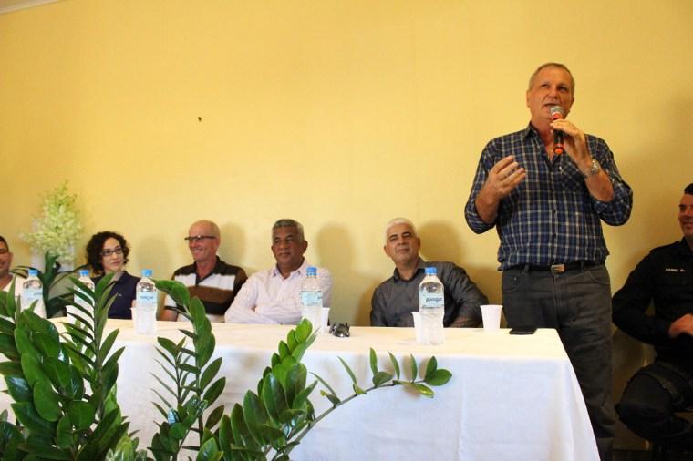 Adelino Follador participa de reunião para implantar Delegacia de Polícia em Alto Paraíso