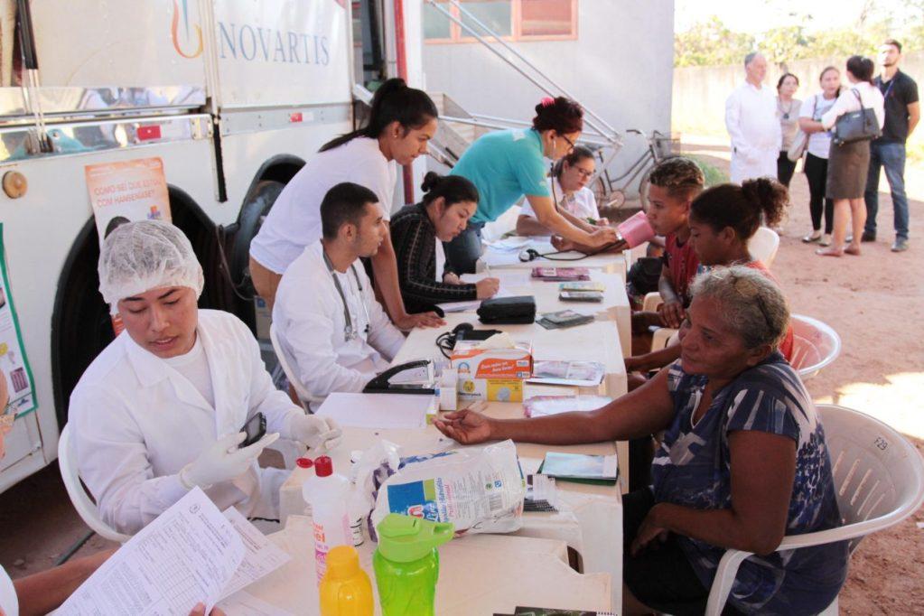 Carreta da Saúde leva informações e atendimento médico para combater a Hanseníase aos municípios de Rondônia