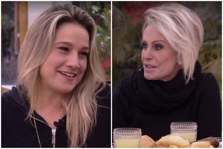 """Ana Maria Braga dá """"sapatão da Copa"""" para Fernanda Gentil"""