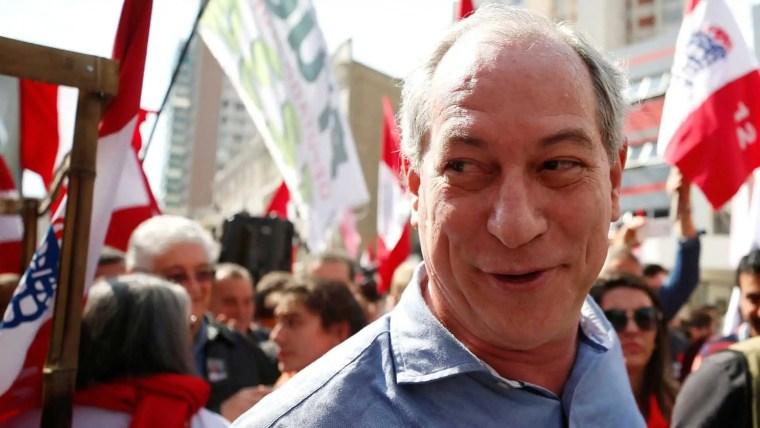 Ciro ataca Bolsonaro e chama Doria de 'vagabundo' e 'nojento'