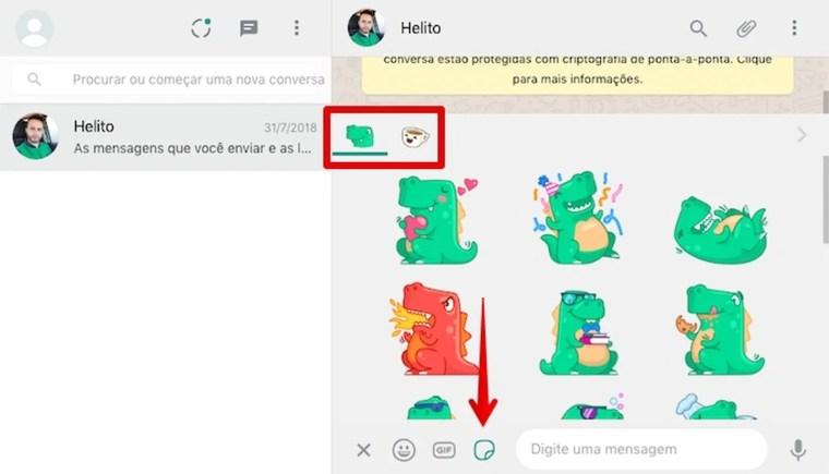 WhatsApp Web libera uso de figurinhas; saiba como baixar