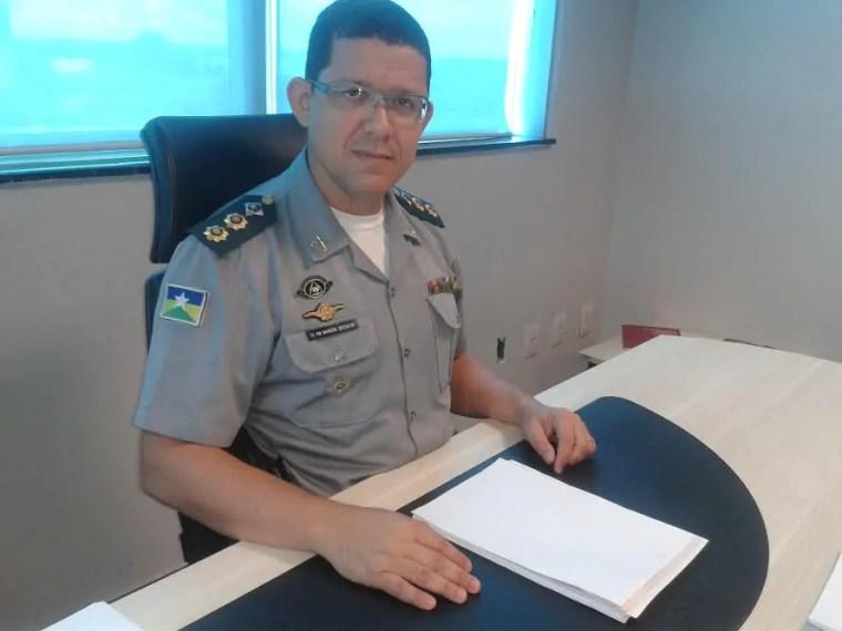 SECRETÁRIO – No comando da SEJUS, Coronel Marcos Rocha foi denunciado por deixar agentes sem água