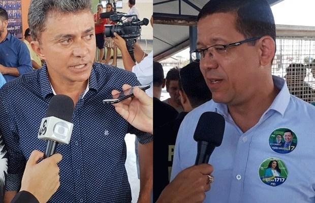 """ELEIÇÕES – Em meio à """"guerra"""" pelo voto, Expedito e Marcos Rocha se confrontarão em debate"""