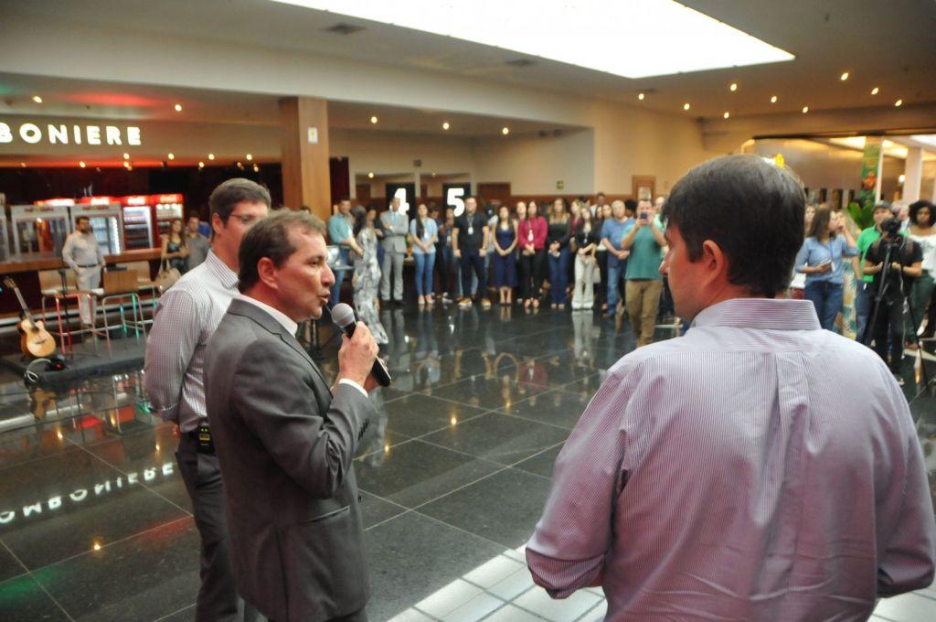 Hildon Chaves participa das comemorações dos dez anos do shopping
