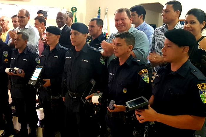 Dr. Neidson participa da entrega de kits mobile para o 6° Batalhão da Polícia Militar de Fronteira de Guajará-Mirim
