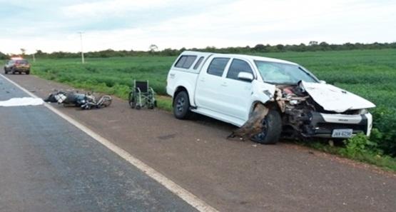 Policial Militar morre em grave acidente na BR-364