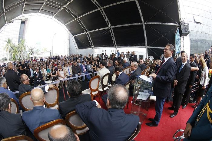 CASA NOVA – Nova sede da ALE-RO é inaugurada em Porto Velho; deputados e governador destacam empenho de atual presidente