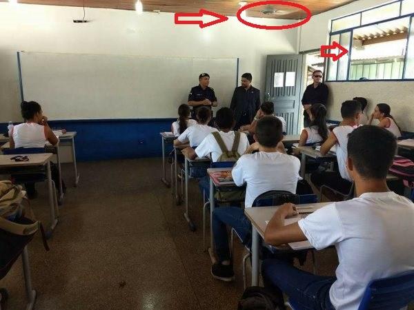COLÉGIO MILITAR-V- Ar condicionados são instalados após atuação do deputado Jesuino