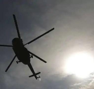 Helicóptero da Polícia Militar cai no Rio durante patrulhamento
