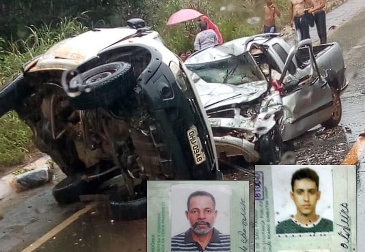Criança morre em hospital e agora são quatro as vítimas fatais de acidente na BR-364