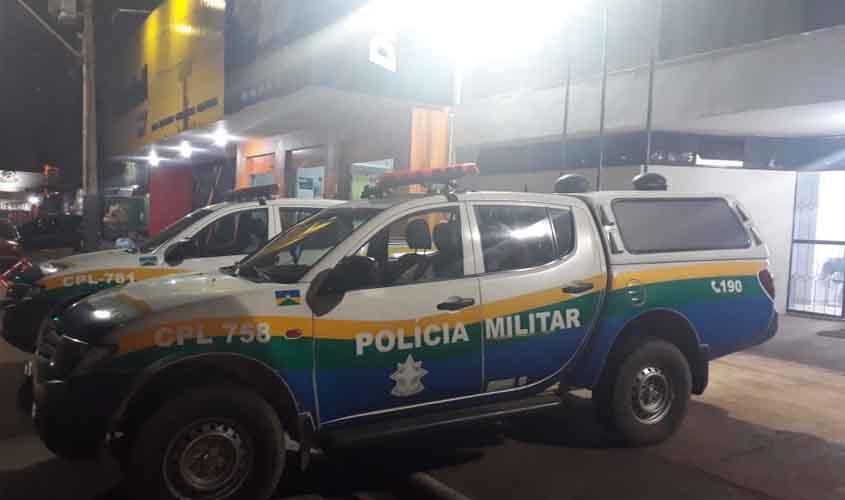 TRÁFICO – PM é recebida a tiros durante prisão de trio na zona Leste