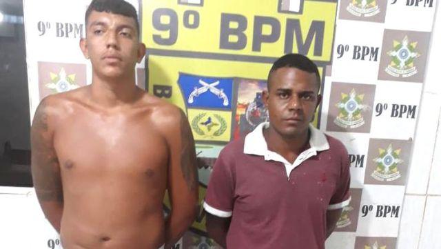 Membros do Comando Vermelho são presos com armas e munições