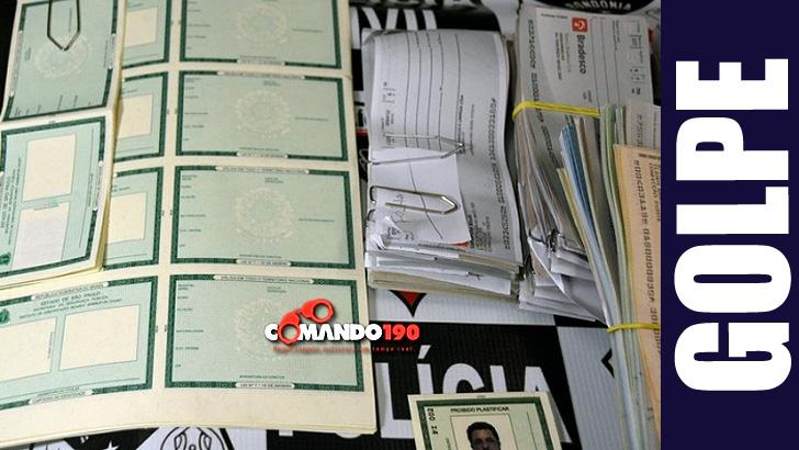 PC encontra centenas de documentos falsos que seriam usados por estelionatários durante a Rondônia Rural Show