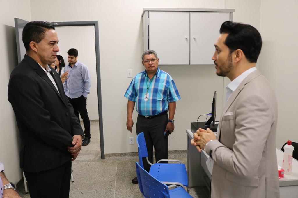 Deputado Eyder Brasil destaca inauguração do Ambulatório de Trauma Ortopédico