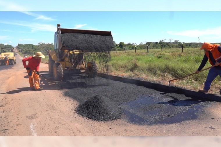 Ismael Crispin pede e Governo dá início a recuperação da Rodovia 010 que interliga municípios