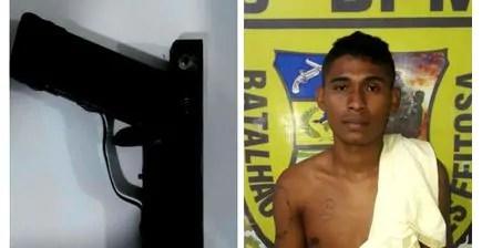 Ex-apenado é preso por porte ilegal e crime de desobediência