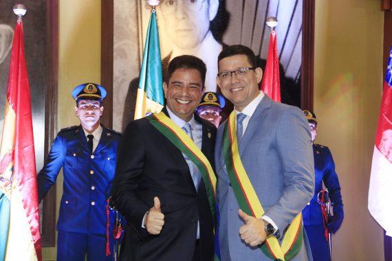Marcos Rocha recebe homenagem no Acre e reforça compromisso de mudar a história da região Amazônica