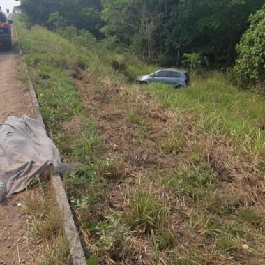 Andarilho bêbado morre atropelado na BR-364