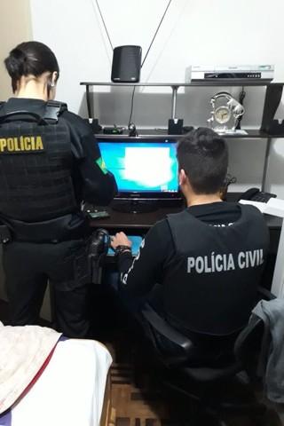 Operação prende 35 pessoas por exploração sexual de menor na internet