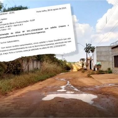 Bairros Nova Esperança e Costa e Silva vão receber limpeza e cascalhamento por indicação de deputado Anderson Pereira