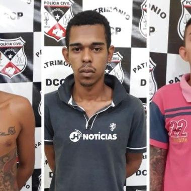 ATAQUES CRIMINOSOS – Trio se entrega na delegacia e confessa autoria de incêndio a ônibus em Porto Velho