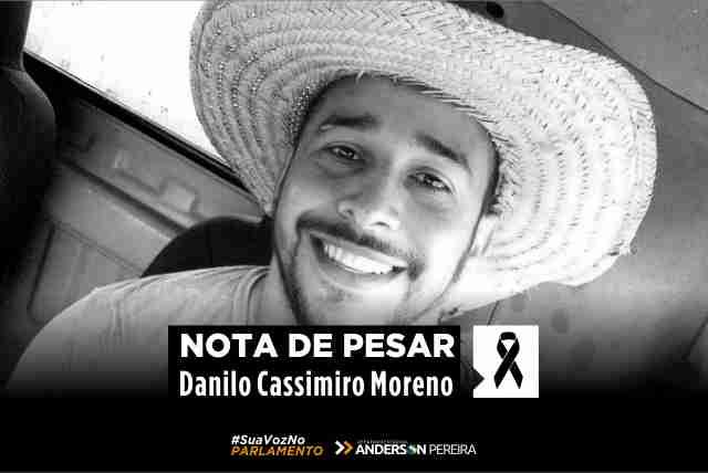 PESAR – Deputado Anderson Pereira lamenta morte de agente penitenciário agredido a pauladas em São Francisco do Guaporé