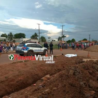 Em Rondônia, homem avança contra Policial Federal, é baleado e morre