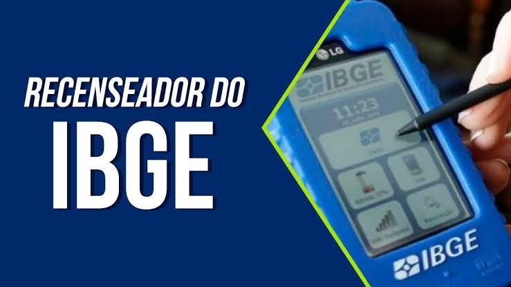 CONCURSO – IBGE vai abrir inscrição com vagas de nível fundamental para recenseador