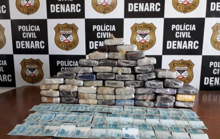 Denarc prende traficante com 55 kg de cocaína avaliada em mais de R$ 1 milhão
