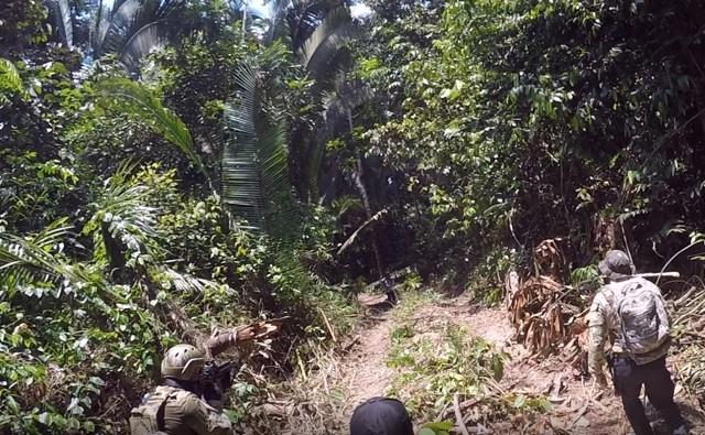 GARIMPO – Operação da PF destrói equipamentos e acampamentos em terra indigena