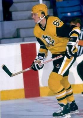 Mario in the ugliest Pens jersey ever seen