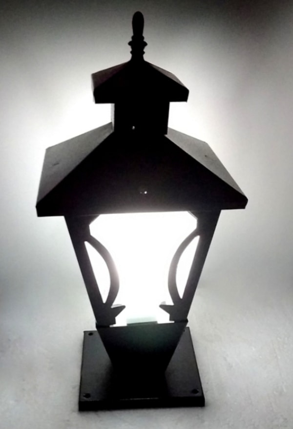 boundary wall lamp and exterior gate lamp