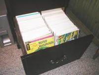 i bought a 4-drawer legal file cabinet last week.   i'm ...