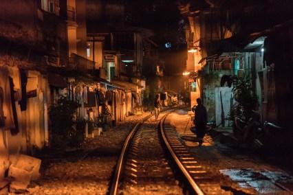 """Train Street"" of Hanoi"