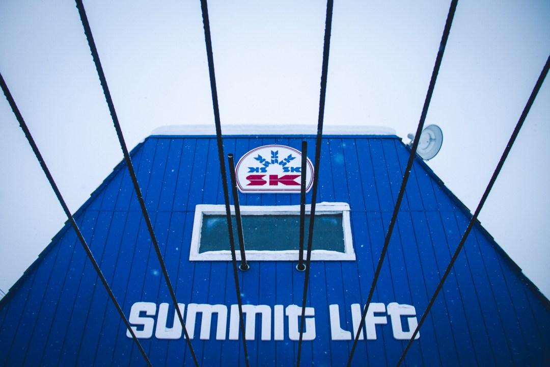 The King's venerable Summit lift. Photo: Ryan Dee