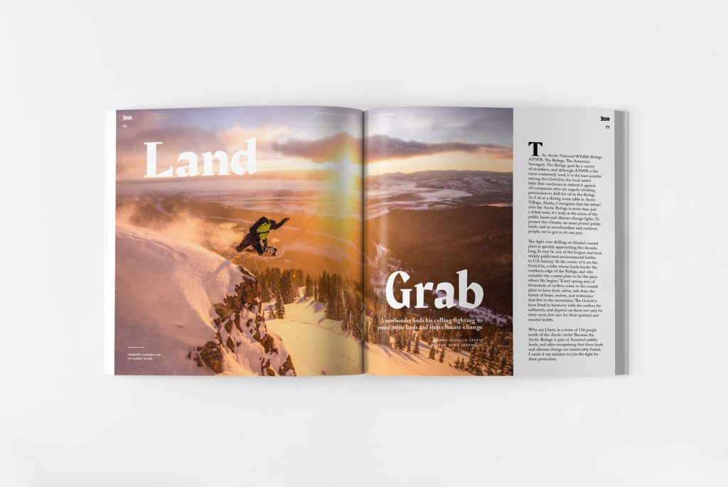 Jackson Hole Snowboarder Magazine Issue Sixteen Interior