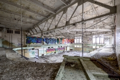 Abandoned Hutchins Middle School | Detroit, Michigan | Urbex Photography | Image by Indiana Architectural Photographer Jason Humbracht