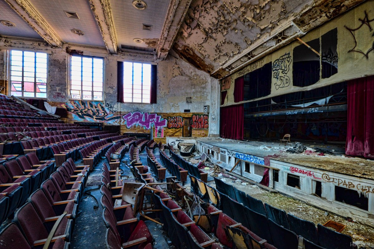 Abandoned High School | Gary, Indiana | Urbex Photography
