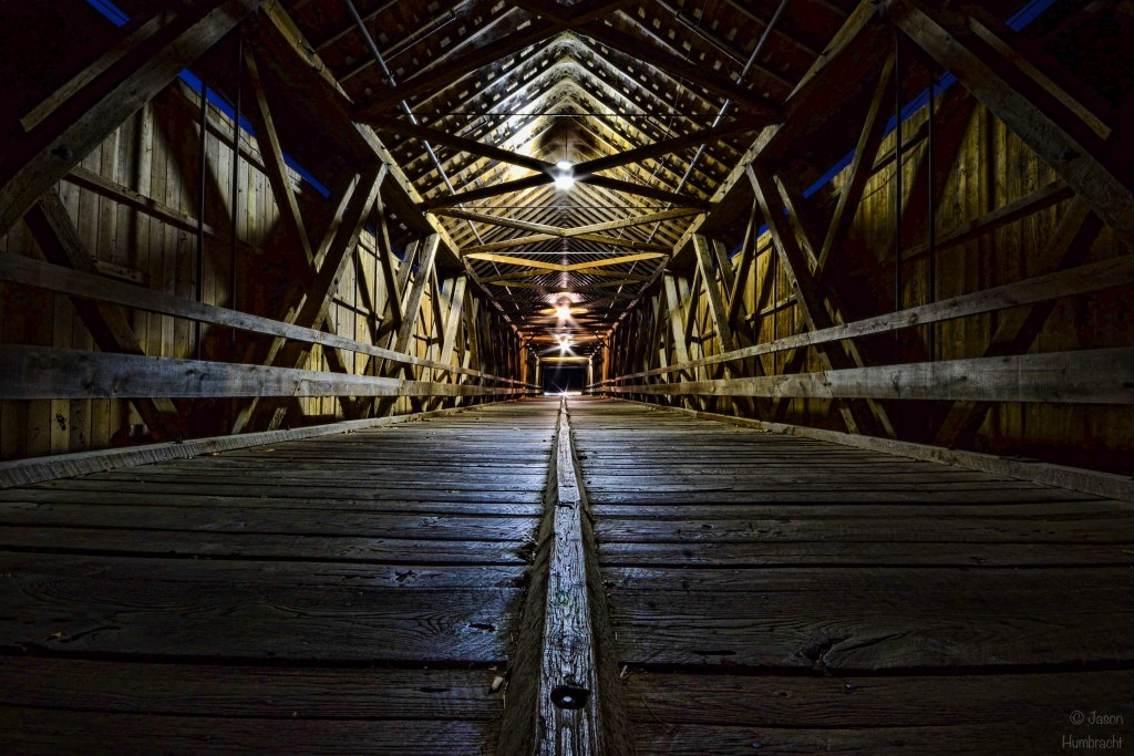 Covered Bridge | Indiana Countryside | Image By Indiana Architectural Photographer Jason Humbracht