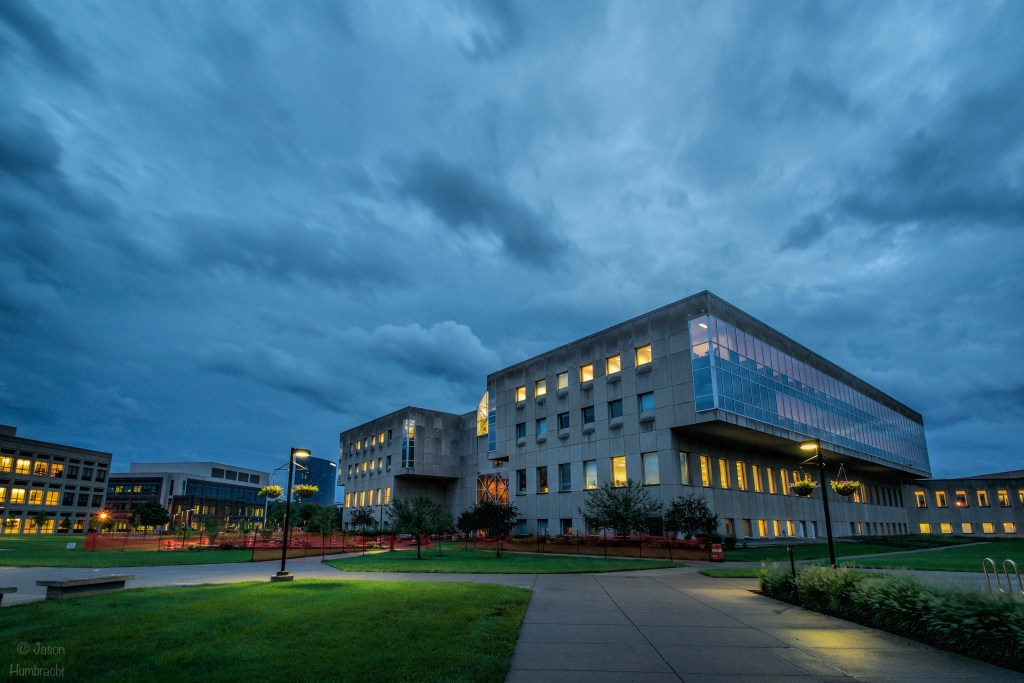 IUPUI Campus | Downtown Indianapolis, Indiana | Image By Indiana Architectural Photographer Jason Humbracht