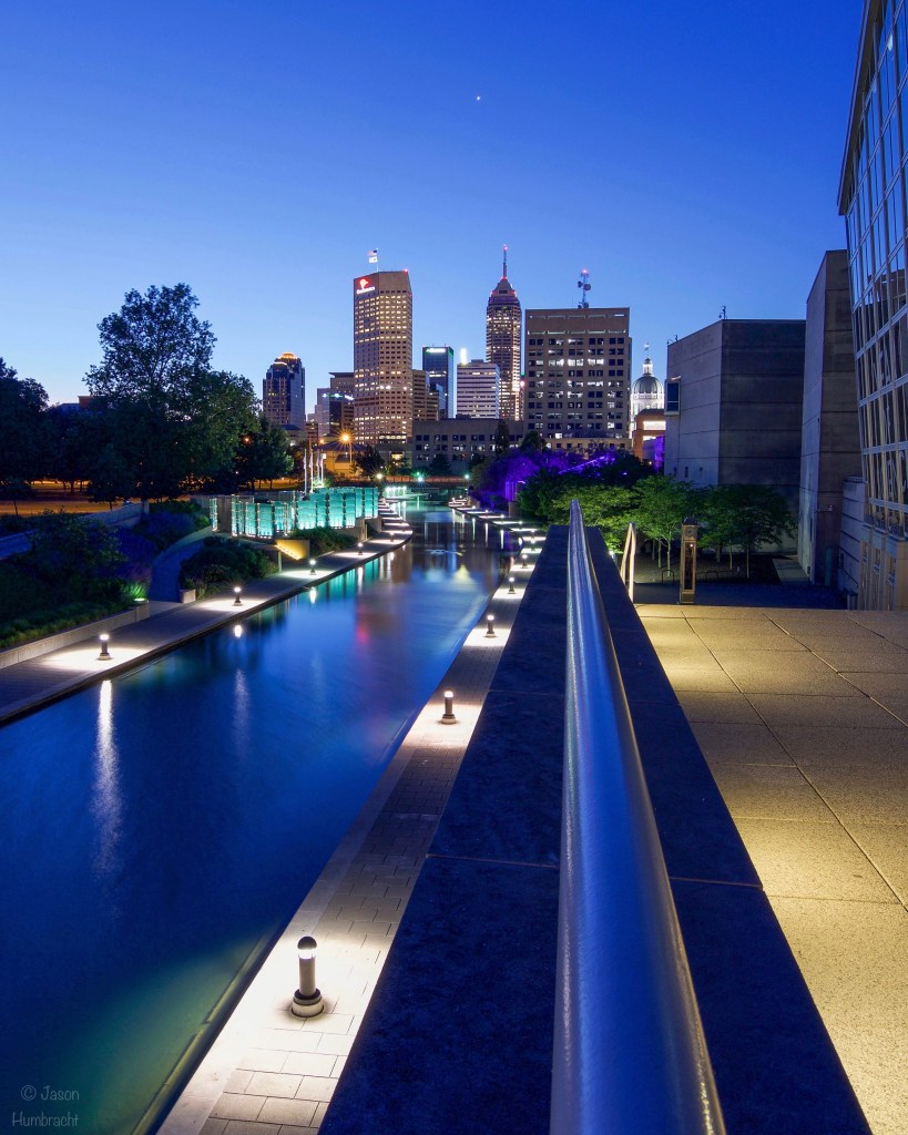 Indianapolis Canal | Indiana State Museum | Indianapolis Sunrise | Indiana Architectural Photography