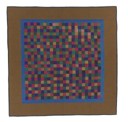 Checkerboard, unknown Amish maker, c. 1900-1920. International Quilt Study Center and Museum, University of Nebraska-Lincoln.